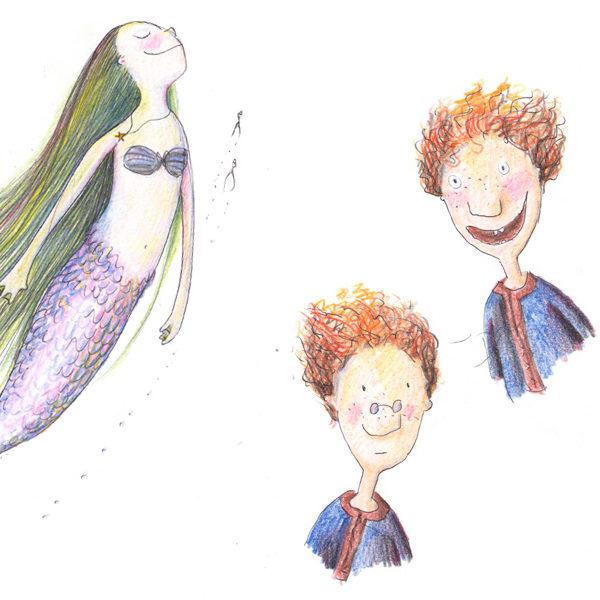 Illustrationen für ein potentielles Kinderbuch-Projekt